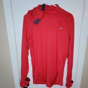 Nike Dri Fit Rose Colored Running Shirt